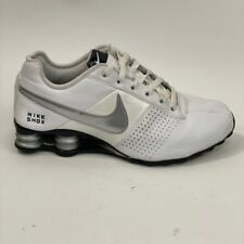 Nike Mens Shox Deliver Running Shoes White 317547-103 Lace Up Low Top 9M