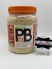 PBfit Organic Peanut Butter Powder (30 oz) EXP 09/2021 FREE SHIPPING