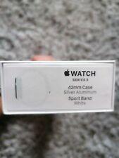 Brand New Sealed Apple Watch series 3 42mm Silver Aluminium GPS