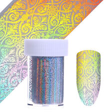 Holographic Starry Nail Foils Classical European Holo Nail Art Transfer Stickers