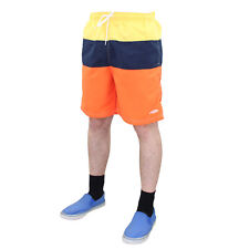 Mens Swimming Board Surf Shorts Swim Swimwear Beachwear Summer Sports Trunks Orange L