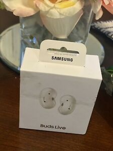 Samsung Galaxy Buds Live Wireless In-Ear Headset - Mystic White