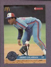 1993 Donruss McDonald's Montreal Expos Andres Galarraga #4 25th Anniversary