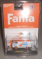 M2 Machines 1960 Volkswagen Delivery Van Fanta White/Orange 2020 NEW VW
