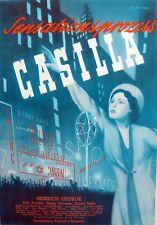 Original ~Heinrich George~ Film Plakat UfA 1939/40 ~Sensationsprozess Casilla~
