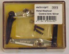ALIGN T-REX 700 Metal Washout Control Arm Silver HN7011QF NEW