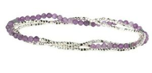Scout Delicate AMETHYST Stone of Protection BRACELET or NECKLACE Jewelry Wrap