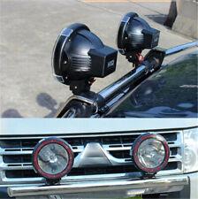 "12V Latest Black 7"" 200W HID Driving Lights XENON Spotlights Offroad 4x4 Work"