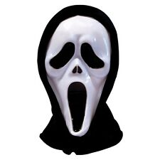 Halloween Scream Scary Ghost Face Fancy Dress Costume Máscara Con Capucha Con Capucha