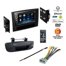 Double DIN Bluetooth USB DVD Car Stereo+Backup Camera+Dodge Ram Radio Dash Kit