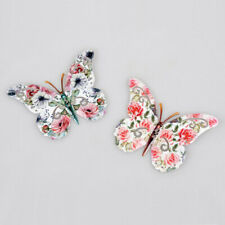 Schmetterling 24 cm Metall Blume Rosendekor Gartendeko Insekten 570703 formano