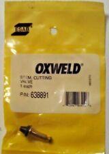 ESAB  - OXWELD  CUTTING VALVE STEM  P/N: 638891  -  Buy more then 1 & Save