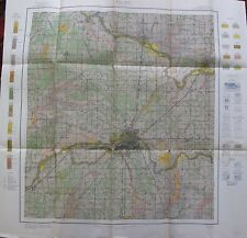 Folded Color Soil Survey Map Delaware County Indiana Center Eaton Albany 1913
