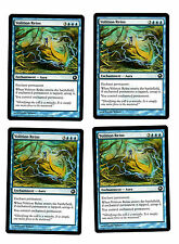 4x Volition Reins EX Scars of Mirrodin Commander Mtg Magic 4x x4