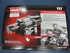 Warn 101045 VRX 45 ATV UTV Quad Winch 4500 Lb 50' 1/4 Cable Roller Fairlead