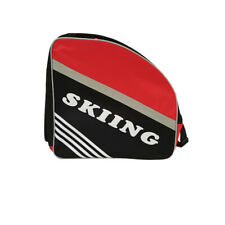 Ski Boot Bag Black& Red Waterproof SkiingTravel Winter Sport Unisex Snowboarding
