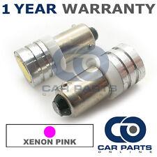 2x XENON ROSA BAX9S H6W 434 LUCI DI POSIZIONE upgrade LED SMD LAMPADINE