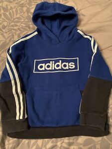 adidas Youth Boys Hoodie Shirt Multi-Color Size 7