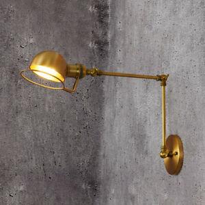Gold Kitchen Wall Lamp Vintage Wall Light Bedroom Wall Lights Bar Wall Lighting
