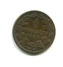 BADEN 1856 1/2 KREUZER