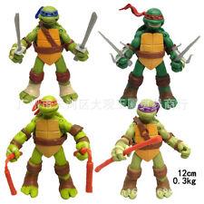 Boys Toys Gift  4PCS Teenage Mutant Ninja Turtles  Action Figure TMNT Model 12cm