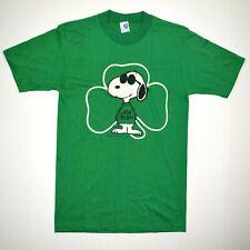 Artex Vtg 70s 80s Snoopy Joe Irish T-Shirt Sz XS Joe Cool Single Stitch NWOT