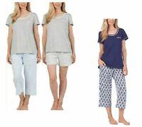 NEW Carole Hochman Women's 3 Piece Pajama Set