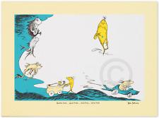 "Dr. Seuss Limited Edition Print ""BLACK FISH BLUE FISH OLD FISH NEW FISH"""