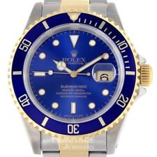 Rolex Submariner Mens Watch 16613 Box & Papers