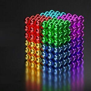 216 stücke 5mm Magnetkugeln Magie Perlen 3D Puzzle Ball Kugel Magnetic Cube DIY