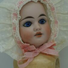 Antique Early Made in Germany German Bisque Doll Needs TLC Composition Body
