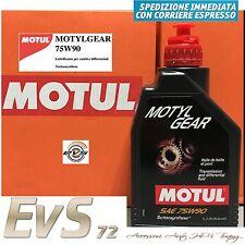 MOTUL MOTYL GEAR 75W90 Olio Trasmissione Cambio GL-4 GL-5 Technosythese