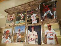 8 Cincinnati Reds Autographed 8x10 Baseball portraits mlb