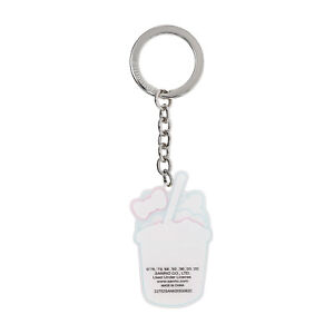 Loungefly Sanrio Hello Kitty Slushie Metal Keychain NEW IN STOCK