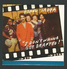Frank Zappa I Don't Want To Get Drafted Cardboard Sleeve CD single Mothers RARE