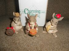 """Charming Tails """"Three Wise Mice Figurines"""" By Dean Griff-In Original Box-Adorabl"""