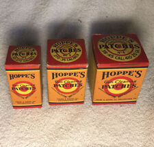 Vintage Hoppe'S Gun Cleaning Patches • 3 Sizes
