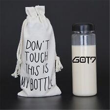 KPOP GOT7 Water Bottle JB JinYoung Mark Jackson YoungJae BamBam YuGyeom New