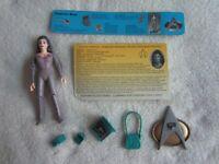 Playmates Toys:  1992 Star Trek The Next Generation:  Lt. Cmdr. Deanna Troi