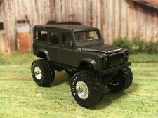 Land Rover Defender Lifted 4x4 Custom 1/64 Diecast Farm Truck Majorette 4WD