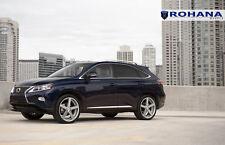 20x9 +35 Rohana RC22 5x114.3 Silver Wheel Fit 2015 Lexus Rx350 5x4.5 Concave Rim