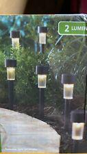 New listing Mainstays Classic Column Solar Path Light Set (10 Pack, No Box)