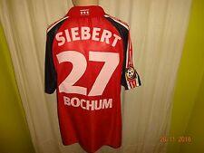 Vfl bochum globe Trotter proporcionen matchworn camiseta 2001/02 + nº 27 Siebert talla m