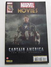 MARVEL MOVIES . 3 . Captain America: The First Avenger . PANINI COMICS