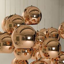 Tom Dixon Ball Bronze Pendant Lamp Rose Gold Glass Kitchen Ceiling Light Fixture