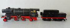 Elektrische Dampflokomotive 20585 18V No102 Bub m. Tender guter Zustand Spur 0