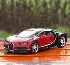 Diecast 1/24 Model Car Kids Toy Xmas Gift Maisto Bugatti Chiron Special Edition