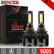 ISINCER 9005 9145 LED Headlight Kits 2000W 300000LM Bulbs High Power 6000K White