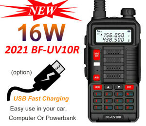 BAOFENG UV10R DEUX BANDES PUISSANCE 1/16W 136-174/400-520MHZ TALKIE WALKIE FR