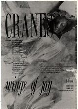 21/9/91 Pgn48 THE CRANES : WINGS OF JOY ALBUM/TOUR ADVERT 7X5""
